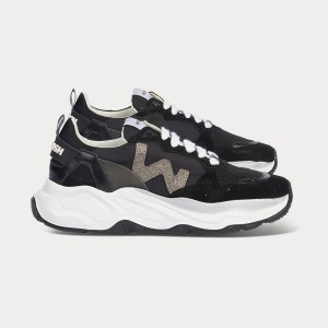 Woman Sneakers FUTURA BLACK Black WOMAN