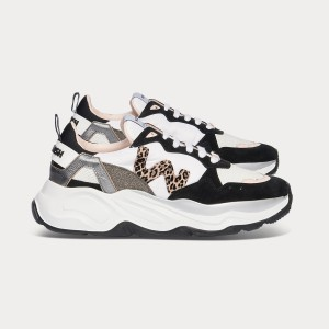 Woman Sneakers FUTURA BLACK WHITE White WOMAN