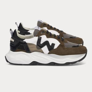 Man Sneakers FUTURA MILITARY WHITE  MAN