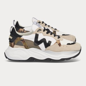 Man Sneakers FUTURA SAND WHITE White MAN