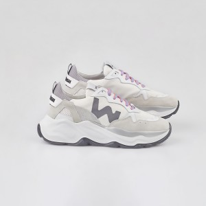 Woman Sneakers FUTURA WHITE SILVER White WOMAN