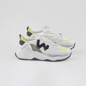 Man Sneakers FUTURA WHITE BLACK SUN White MAN