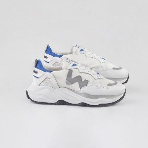 Man Sneakers FUTURA WHITE GREY SKY White MAN