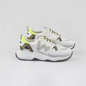 Man Sneakers FUTURA WHITE FLUO White MAN