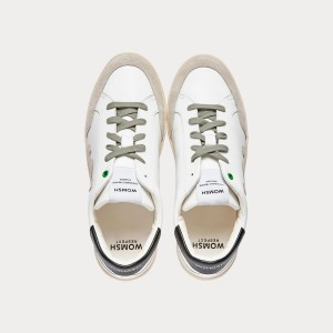 Sneakers Womsh Man Sneakers HECTOR WHITE GRAPHIC H201554
