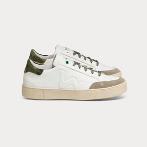 Man Sneakers HECTOR WHITE MILITARY White MAN