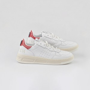 Man Sneakers HYPER WHITE RED White MAN
