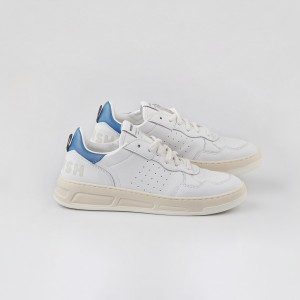 Man Sneakers HYPER WHITE BLU White MAN