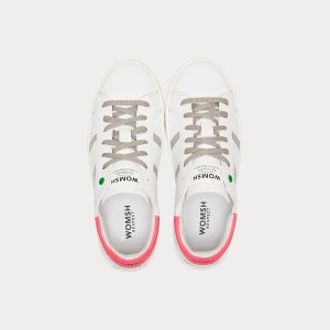 Sneakers Womsh  KINGSTON WHITE GREY FUXIA  K190607