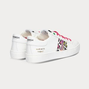 Sneakers Womsh Woman Sneakers KINGSTON WHITE FUXIA LEMON K201604