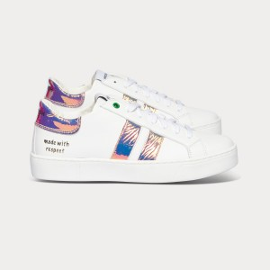 Woman Sneakers KINGSTON WHITE LUX White WOMAN