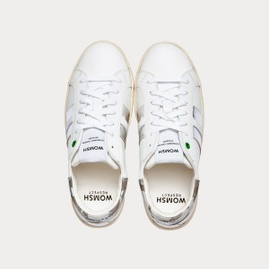 Sneakers Womsh Woman Sneakers KINGSTON WHITE SILVER K201606