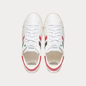 Sneakers Womsh Man Sneakers KINGSTON WHITE RED BLACK K201652
