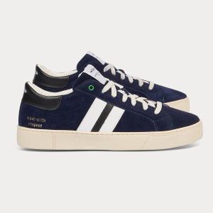 Man Sneakers KINGSTON BLUE WHITE BLU MAN