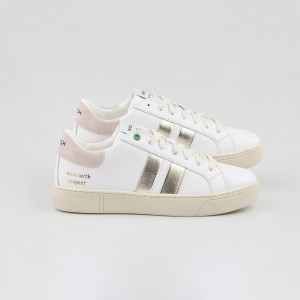 Woman Sneakers KINGSTON WHITE METALLIC White WOMAN