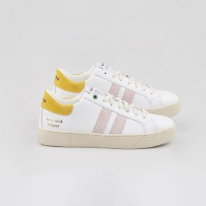 Woman Sneakers KINGSTON WHITE SUN White WOMAN