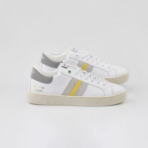 Man Sneakers KINGSTON WHITE SUN White MAN