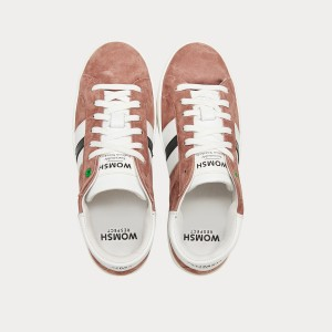 Sneakers Womsh  KINGSTON SUEDE PINK WHITE K290609
