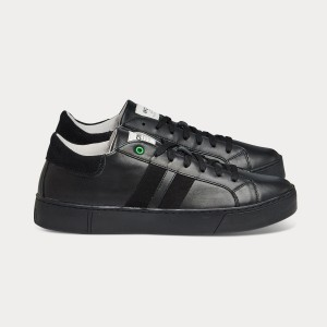 Man Sneakers KINGSTON BLACK Black MAN