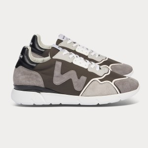 Man Sneakers RUNNY GREY BLACK GRIGIO MAN