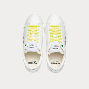Sneakers Womsh Woman Sneakers SNIK WHITE LEMON S201201