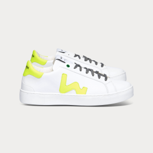 Man Sneakers SNIK WHITE FLUO White MAN