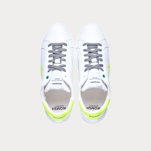 Sneakers Womsh Man Sneakers SNIK WHITE FLUO S201254