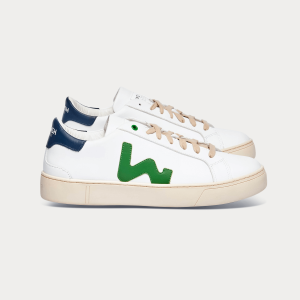Man Sneakers SNIK WHITE GREEN White MAN