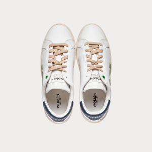 Sneakers Womsh Man Sneakers SNIK WHITE GREEN S201259