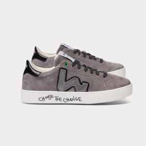 Woman Sneakers SNIK GREY GRIGIO WOMAN