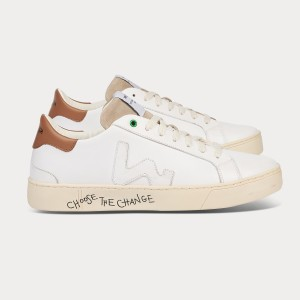 Man Sneakers SNIK WHITE SAND White MAN