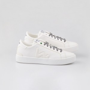 Man Sneakers SNIK WHITE White MAN