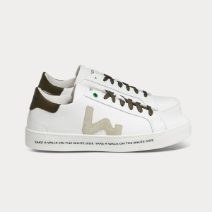 Man Sneakers SNIK WHITE ARMY White MAN
