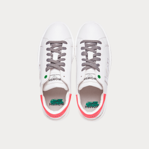 Sneakers Womsh Sneakers Donna VEGAN CONCEPT WHITE SILV. FUXIA  VC201931