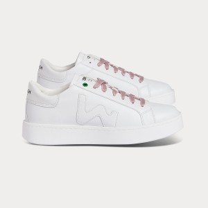 Vegan line Sneakers VEGAN CONCEPT WHITE White WOMAN