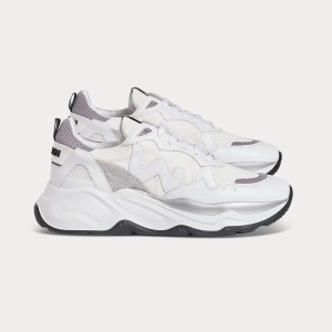 Vegan line Sneakers VEGAN FUTURA WHITE GREY White WOMAN