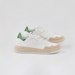 Man Sneakers VEGAN HYPER WHITE GREEN White MAN