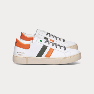 Man Sneakers VEGAN KINGSTON WHITE ORANGE White MAN