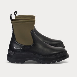 Sei bellissima VEGAN LOOP BLACK MILITARY Nero Donna