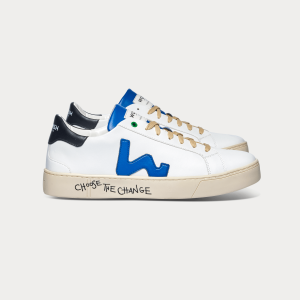 Vegan line Sneakers VEGAN SNIK WHITE BLUE White MAN