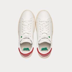 Sneakers Womsh Woman Sneakers VEGAN SNIK WHITE RED VS201236