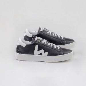 Vegan line Sneakers VEGAN SNIK BLACK WHITE Black MAN