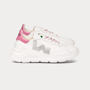 Woman Sneakers WAVE WHITE SILVER White WOMAN