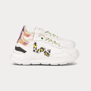 Woman Sneakers WAVE WHITE LEMON White WOMAN