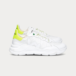 Man Sneakers WAVE WHITE FLUO White MAN