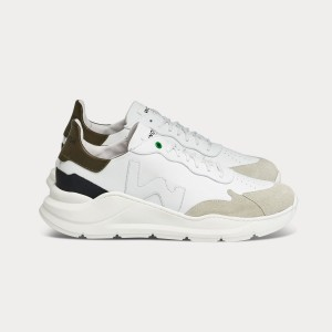 Man Sneakers WAVE WHITE ARMY White MAN